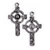 Pendant-Celtic Cross Antique Pewter